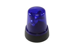 Der blaue Blinkgeber Lizenzfreie Stockbilder