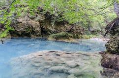Der blaue Fluss Lizenzfreies Stockfoto