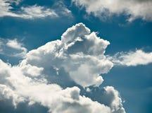 der blaue Himmel Lizenzfreie Stockfotos