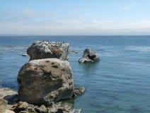 Der blaue Pazifische Ozean Stockbild