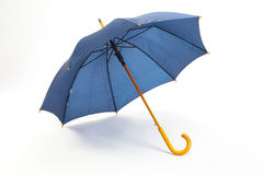 Der blaue Regenschirm Stockfotos