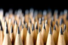 Der Bleistift gesetzt lizenzfreie stockfotografie