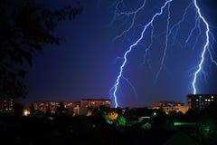 Der Blitz Stockfotos