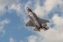 Der Blitz Lockheed Martins F-35 Stockfoto