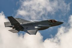 Der Blitz Lockheed Martins F-35 Stockfotos