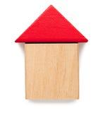 Der Block-Haus der Kinder Lizenzfreies Stockbild