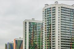 Der Block neuer builings Landschaft Lizenzfreie Stockfotos