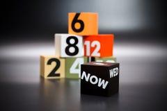Der Block zeigt die Zahl, die darstellt Lizenzfreies Stockfoto