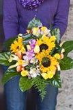 Der Blumenstrauß Stockbilder