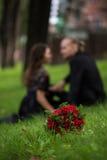 Der Blumenstrauß der Braut Stockbilder