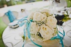 Der Blumenstrauß der Braut Lizenzfreie Stockfotos
