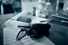 Der Blutdruck Lizenzfreies Stockbild