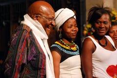 Der Bogen-Bischof Emeritus Desmond Tutu Lizenzfreies Stockbild