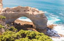 Der Bogen an der großen Ozean-Straße - Victoria, Australien Stockfotos