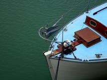 Der Bogen eines alten Bootes lizenzfreies stockbild