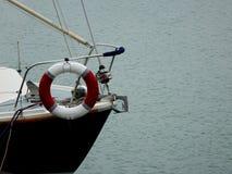 Der Bogen eines Bootes lizenzfreies stockfoto