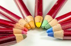 Der Bogen von Farben Stockfotos