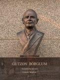 Der Borglum-Skulptur-Mount Rushmore Nationalpark lizenzfreies stockfoto