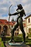 Der botanische Garten in Prag Stockfotografie