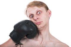 Der Boxer Stockfotos