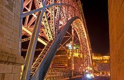 An der Brücke Stockfotografie