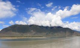 Der brahmaputra-Fluss Lizenzfreie Stockfotografie