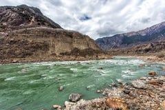 Der Brahmaputra Grand Canyon Lizenzfreies Stockbild