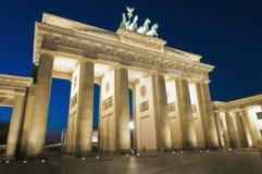 Der Brandenburger Felsen in Berlin, Deutschland Lizenzfreie Stockfotografie
