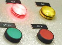 Der Brandschutzkontrollbereich, Industrien Stockbilder