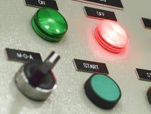 Der Brandschutzkontrollbereich, Industrien Lizenzfreie Stockbilder