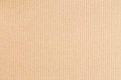 Der braune Papierkasten ist leerer, abstrakter Papphintergrund Lizenzfreies Stockfoto