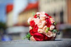 Der Braut ` s Blumenstrauß Lizenzfreies Stockfoto