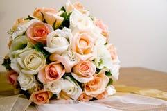 Der Brautblumenstrauß Stockbilder