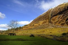 Der Brei von Glencoe, Schottland Lizenzfreie Stockfotografie