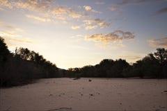 Der breite Kuiseb-Fluss in Namibia Stockfoto