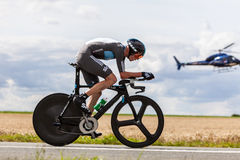 Der britische Radfahrer Froome Christopher Stockbilder