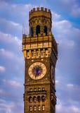 Der Bromo-Seltzer-Turm in im Stadtzentrum gelegenem Baltimore, Maryland Lizenzfreie Stockfotos