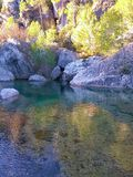 Der Brugent-Fluss stockfoto