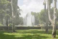 Der Brunnen im Park Lizenzfreie Stockfotografie