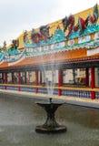 Der Brunnen im Tempel Lizenzfreie Stockfotos