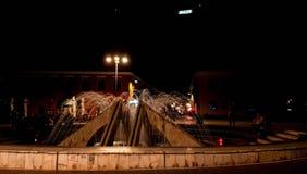 Der Brunnen der Nacht lizenzfreie stockfotografie