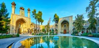 Der Brunnen in Sepahsalar-Moschee, Teheran Lizenzfreies Stockbild