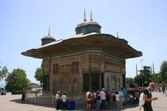 Der Brunnen von Sultan Ahmed Stockbilder