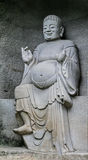 Der Buddha in lingyun Berg in Sichuan, Porzellan stockbild