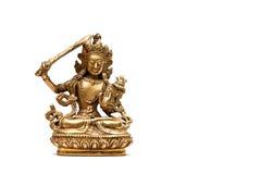 Der Buddha mit Klinge Lizenzfreies Stockfoto