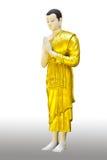 Der Buddha-Statuestandplatz lizenzfreie stockbilder