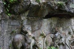 Der Buddha von Lingyin-Naturschutzgebiet Lizenzfreie Stockfotografie