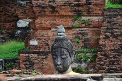 Der Buddha wurde durch den Krieg zerstört Lizenzfreie Stockfotos