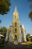 Der buddhistische Tempel in der gotischen Art Lizenzfreies Stockbild