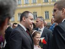 Der bulgarische Premierminister öffentlich Lizenzfreies Stockbild